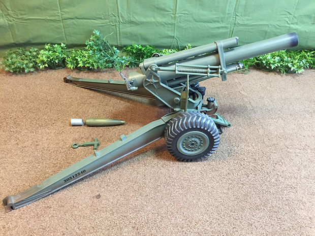 Hasbro社の M114A1 155mm Howitze (榴弾砲)